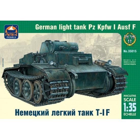 Niemiecki czołg lekki Pz.Kpfw I Ausf.F