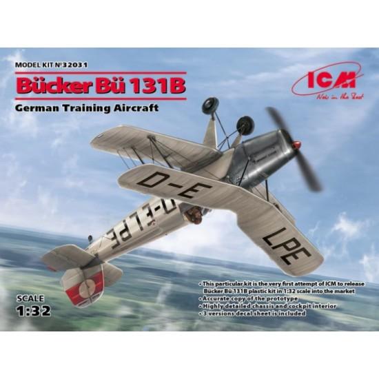 Bücker Bu-131B German Training Aircraft