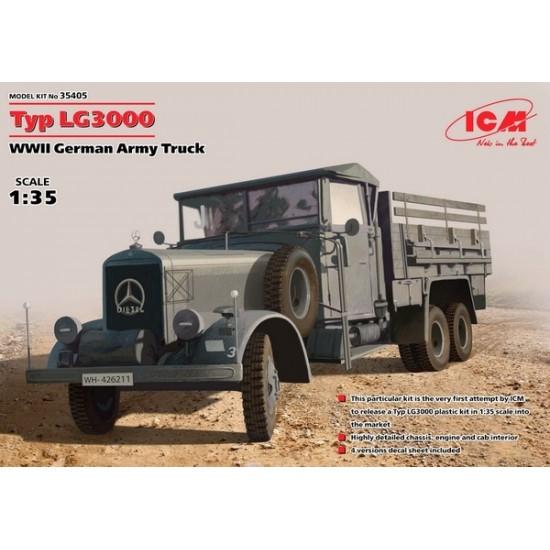Mercedes-Benz Typ LG3000 (German Army Truck)