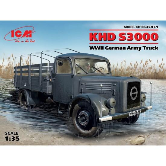 KHD S3000 WWII German Army Truck