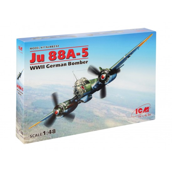 Ju 88A-5 WWII German Bomber