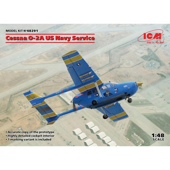 Cessna O-2A US Navy Service
