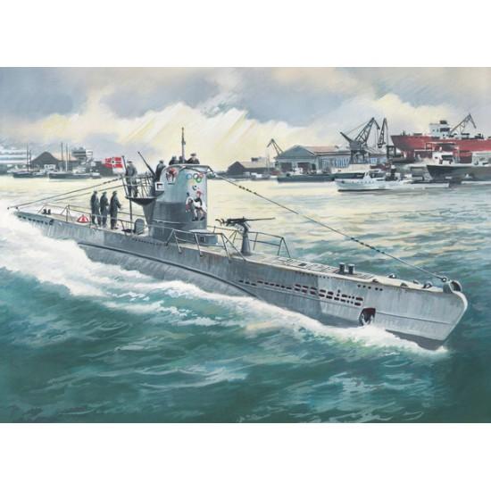 Niemiecki okręt podwodny U-Boat Type IIB (1943)