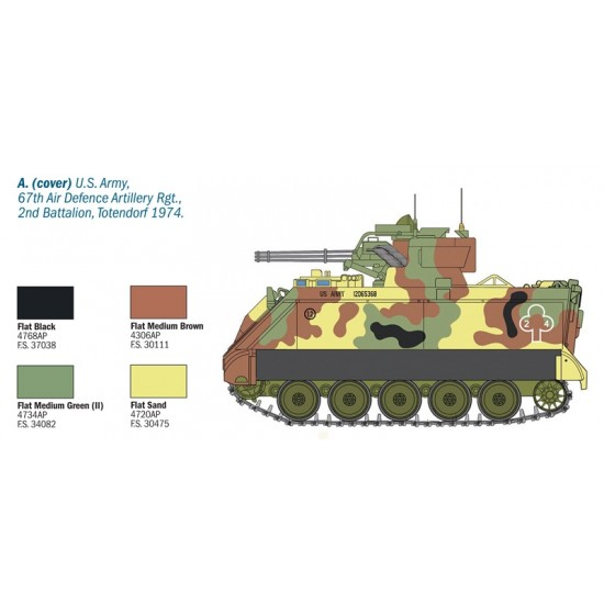 M163 VADS Vulcan Air Defence System