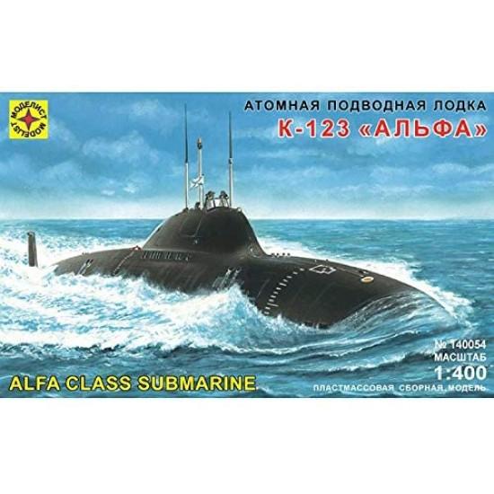 K-123 łódź podwodna klasy ALFA