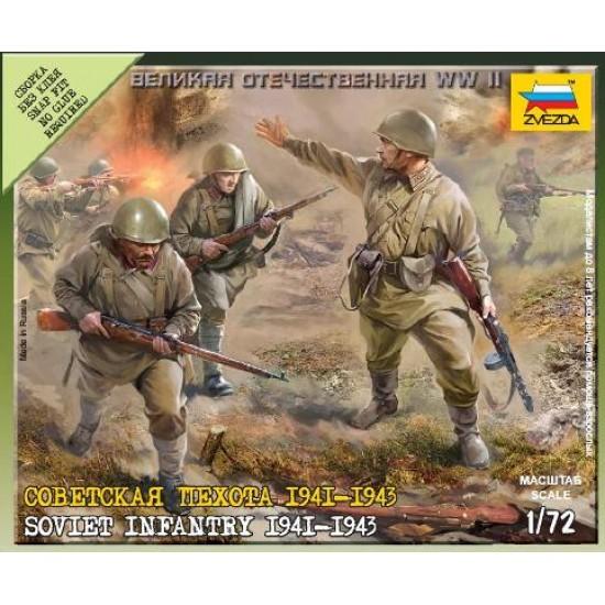 Soviet infantry 1941-1945