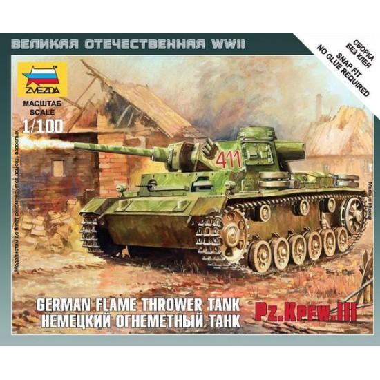 Panzer III Flamethrower Tank