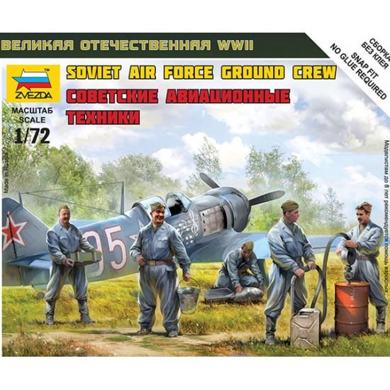 Soviet Air Force Ground Crew