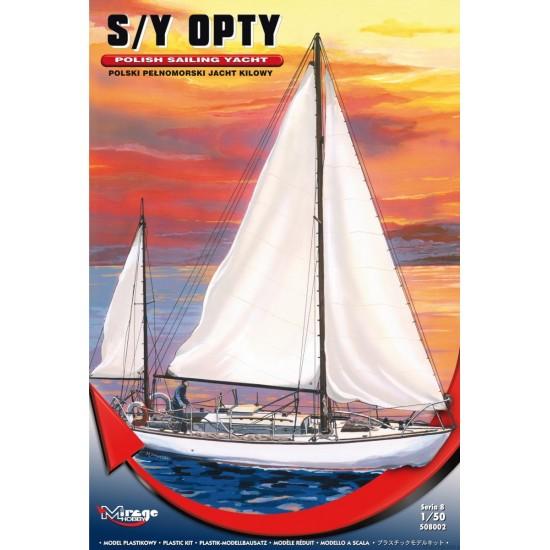 S/Y OPTY  -Polski pełnomorski jacht kilowy.