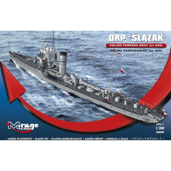 ORP ŚLĄZAK torpedowiec - 1/350