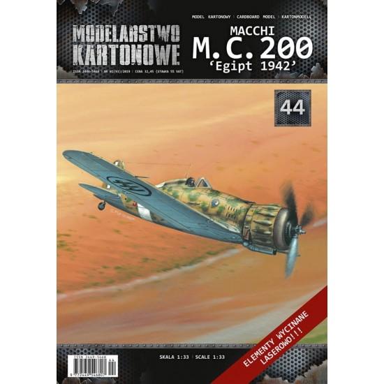 MACCHI MC.200 Egipt 1942