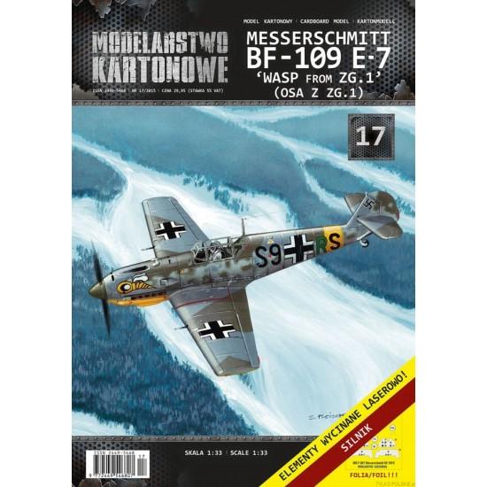 Messerschmitt Bf-109 E-7 WASP from ZG.1