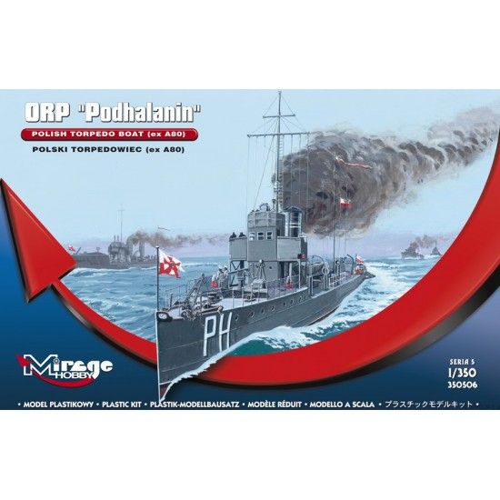 ORP PODHALANIN torpedowiec - 1/350