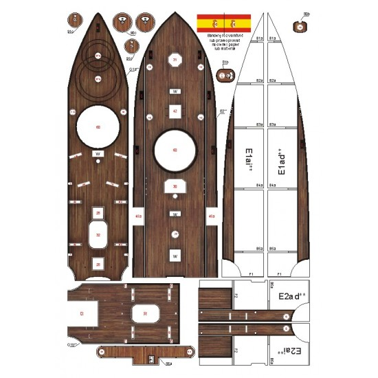 109. Hiszpański pancernik Pelayo - 1888