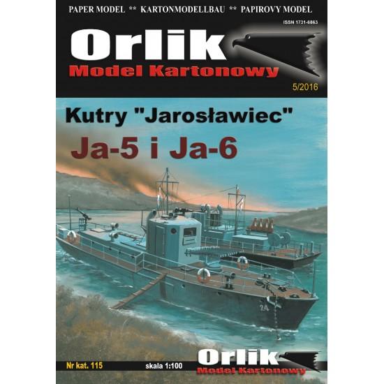 115. Radzieckie kutry  rzeczne Jarosławiec Ja-5 i Ja-6