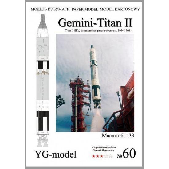 RAKIETA Gemini - Titan II