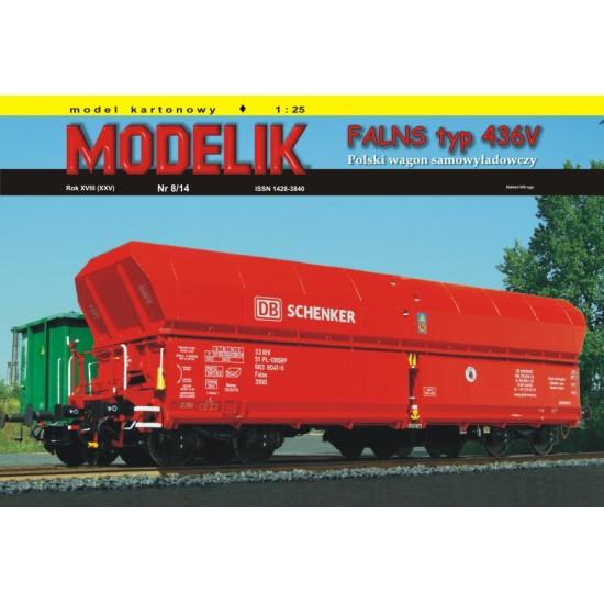 Wagon FALNS typ 436V