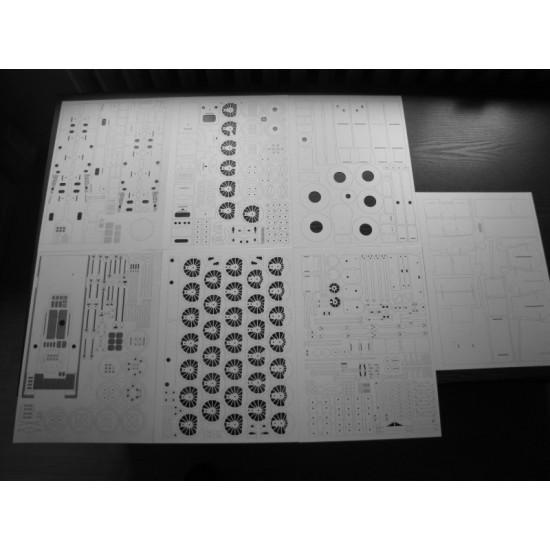TKw2-  Wręgi, detale, koła, grawerowane tabliczki i pomosty