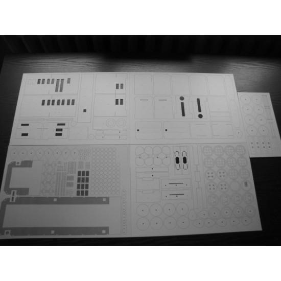T448p   Wręgi, koła, detale, grawerowane tabliczki