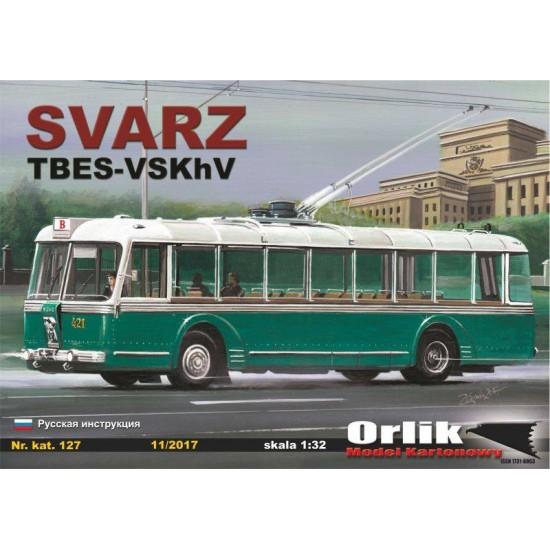 127. Trolejbus SVARZ  TBES-VSKhV