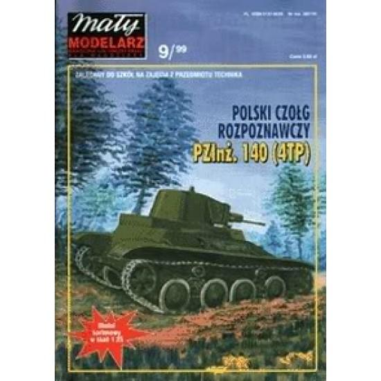 Polski czołg rozpoznawczy PZInż. 140 (4TP)