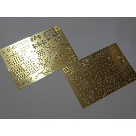 Zestaw dodatków fototrawiony (photo etch) - specials - Zugabe - IJN I-400