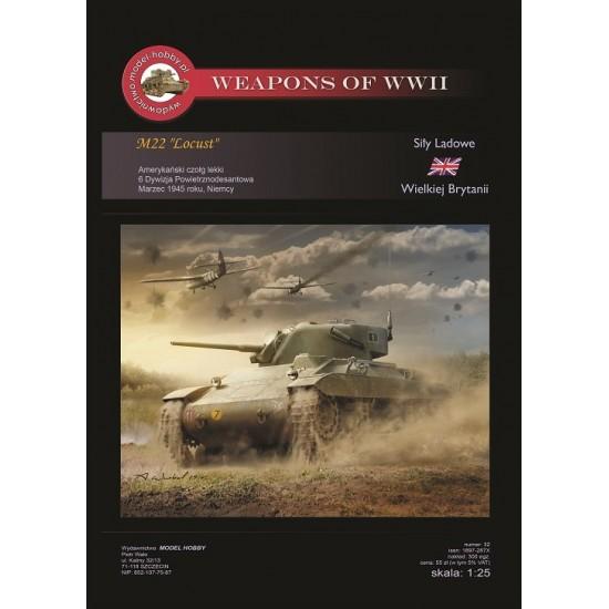 MH 032 Amerykański czołg lekki M-22 Locust