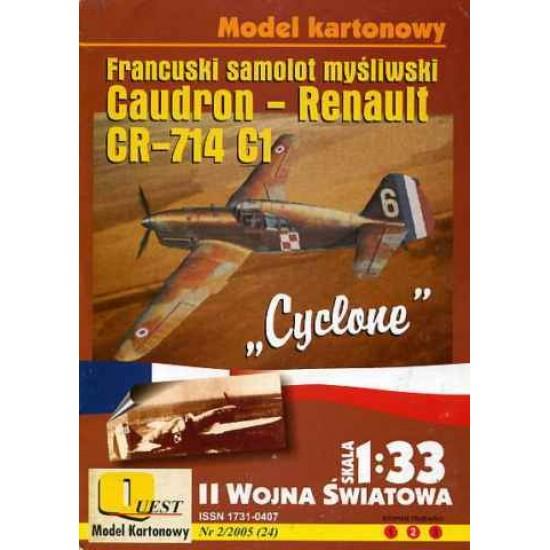 Caudron-Renault CR-714 C1 Cyclone