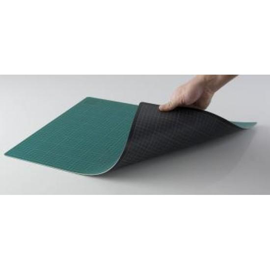 Mata do cięcia 30 x 45cm , gr. 3 mm - DWUSTRONNA zielono/czarna