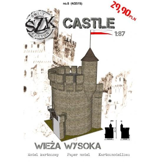 CASTLE 008 - Wieża wysoka