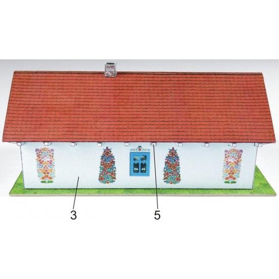 Zalipie - malowana chata