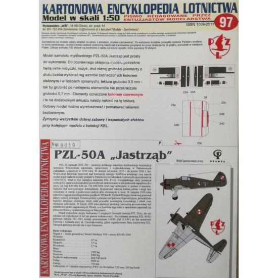 PZL-50A Jastrząb