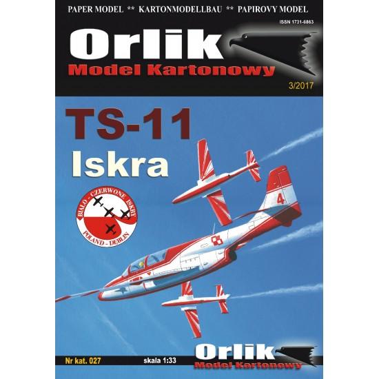 027. Samolot TS 11 Iskra