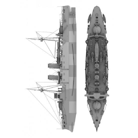116. Hiszpański krążownik  pancerny Infanta Maria Teresa