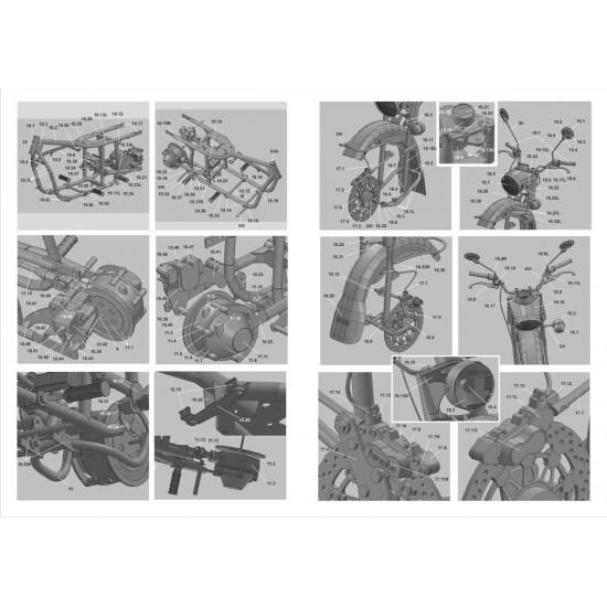123. Motocykl Ural Patrol