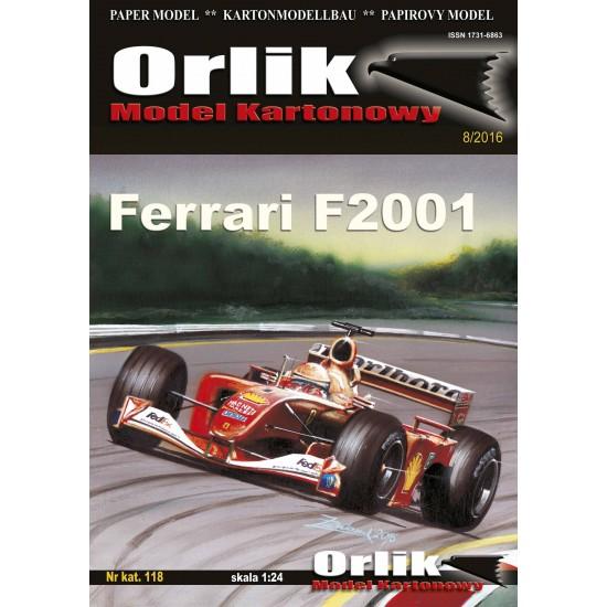 118. Ferrari F2001