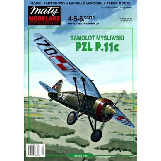 Samolot myśliwski PZL P.11c