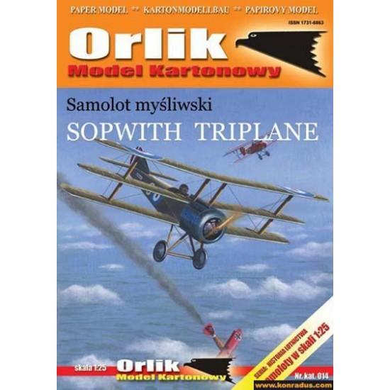014.  Sopwith Triplane