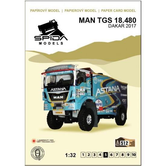MAN TGS 18.480 4x4 Astana