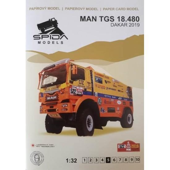 MAN TGS 18.480 Dakar 2019