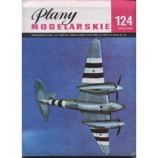 Brytyjski samolot myśliwsko - bombowy De havilland Mosquito