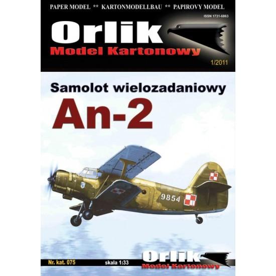 075. Samolot wielozadaniowy An-2