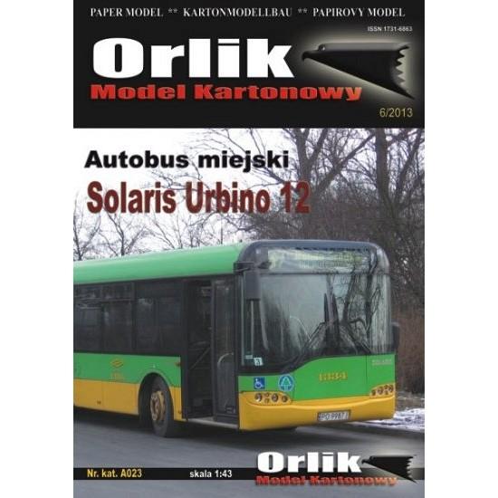 A023. Solaris Urbino 12 MZK Poznań