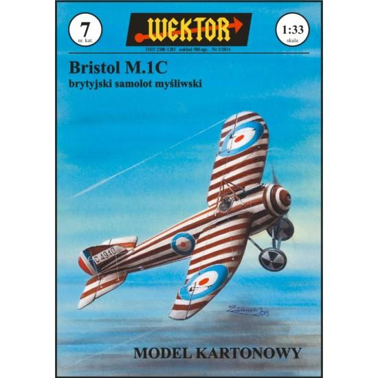Brytyjski samolot mysliwski Bristol M1C