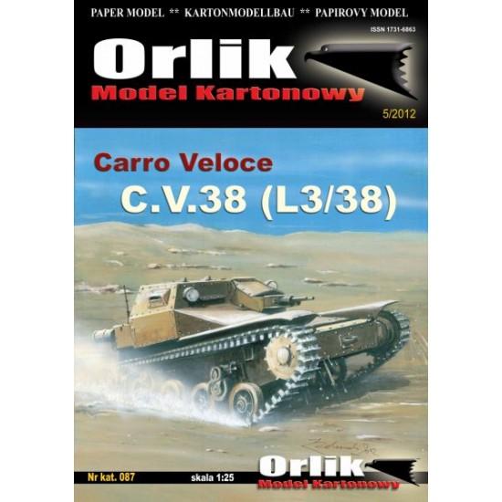 087. Carro Veloce C.V. 38 (L3/38)