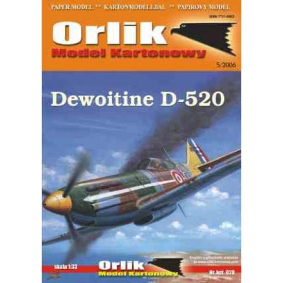 028.  Dewoitine D 520