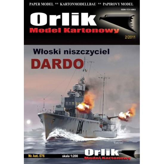 076. Włoski niszczyciel Dardo