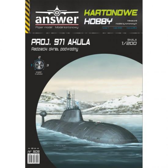 Okręt podwodny Projekt 971 Akula