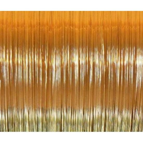 Drut mosiężny okrągły 0,7 mm, 5 metrów