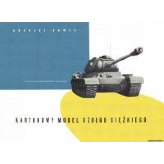 Kartonowy Model Czołgu Ciężkiego